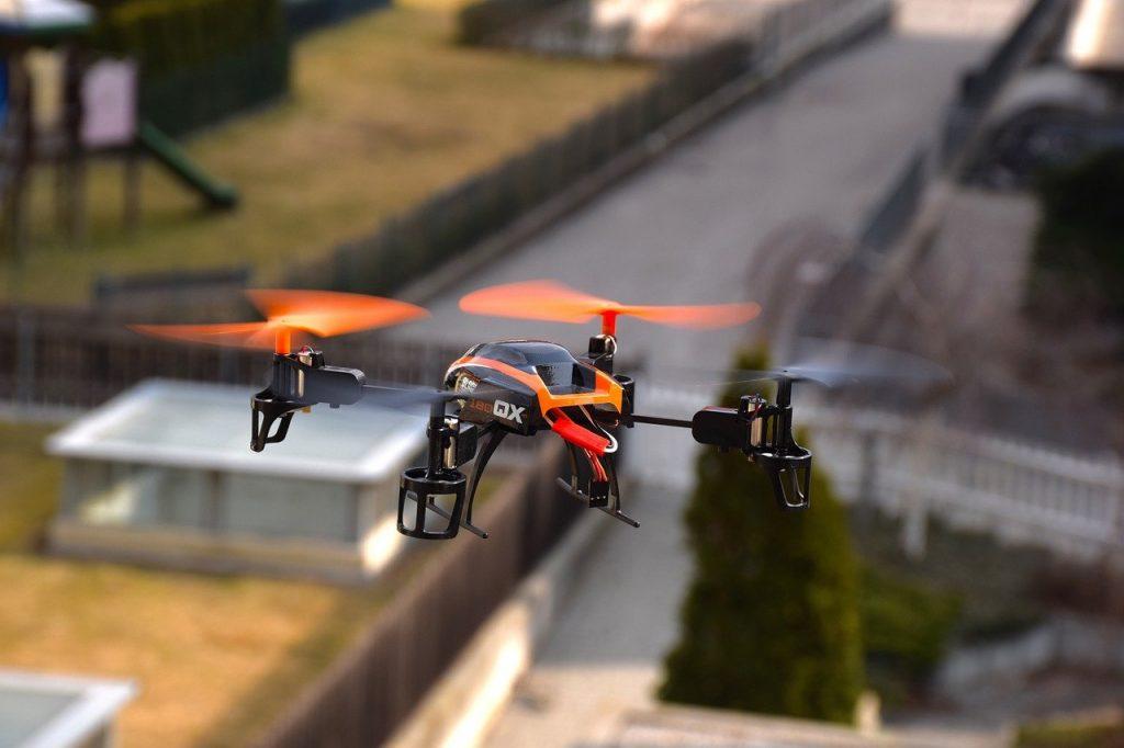 Drones con IA CES 2017