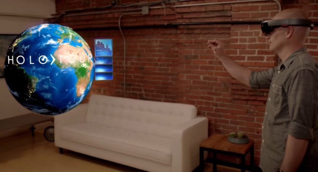 Hololens Microsoft apps