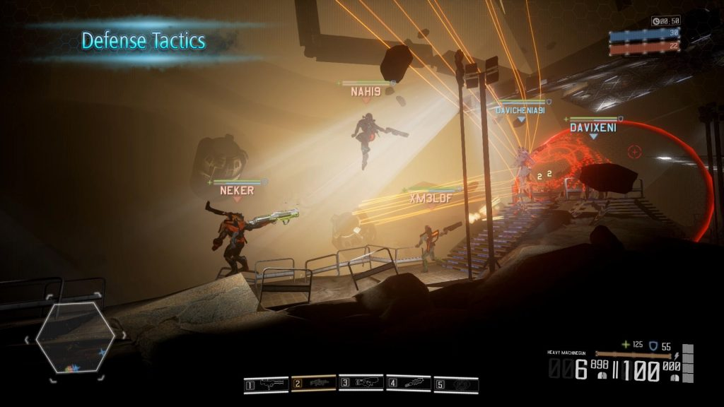 Gameplay hero shooter indie
