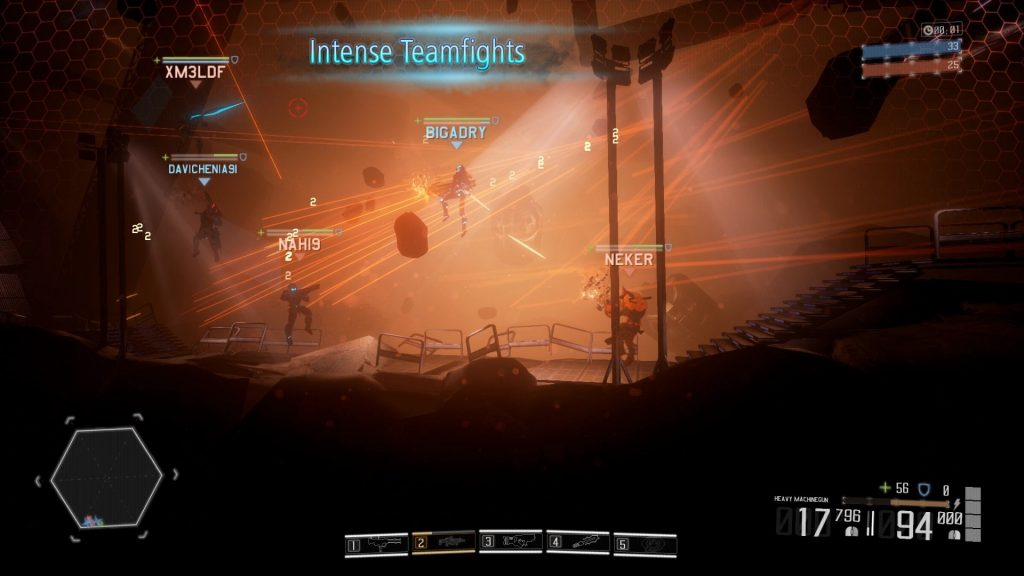 HIVE combats Steam game
