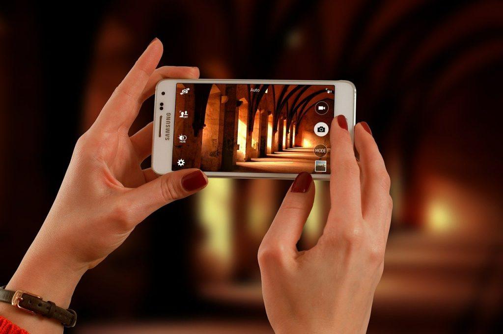 App realidad aumentada ceramica smartphone